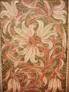 Embroidery, V and A museum, London.