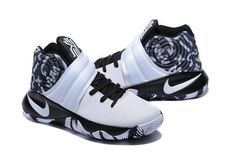 b63dd9165c55 Nike Kyrie 2 Black White Tenis Basketball