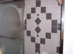 bathroom tile design patterns with nice shape httplanewstalkcom - Bathroom Tile Designs Patterns