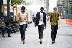 Models, Day 1 of New York Fashion Week.