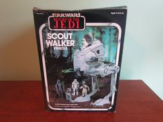 Vintage 1983 Star Wars Return of the Jedi ROTJ SCOUT WALKER w/ Box 69800 Vehicle #Kenner