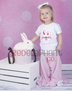 Girl Easter Bunny Outfit