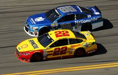 Dale Earnhardt Jr. & Joey Logano; Daytona 500