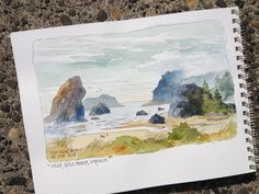 DON GETZ 'WATERCOLOR JOURNAL TOUR' OF THE USA: July 2013