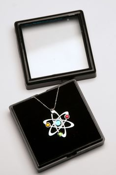 3 Stone Science Symbol necklace from Anatomology.