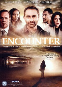 The Encounter - Christian Movie/Film on DVD from Pure Flix Bruce Marchiano / Stranded middle of nowhere, 5 strangers find refuge deserted roadside diner. Good Christian Movies, Christian Films, Christian Music, Christian Videos, Christian Living, See Movie, Film Movie, Thought Provoking Movies, Spiritual Movies