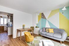 Rénovation complète d'un appartement de 54 m² à Vanves, avec agencement…