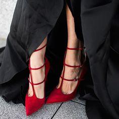 Shoespie Sexy Red Banquet Stiletto Heels