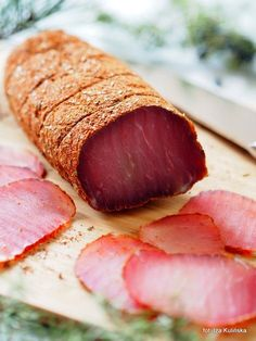 Fruit Recipes, Pork Recipes, Cooking Recipes, Meat Sandwich, Bulgarian Recipes, Meat And Cheese, Polish Recipes, Smoking Meat, Appetisers