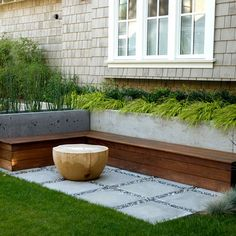 Contemporary Home Concrete Poured Stepping Stones Patio Design Ideas, Pictures, Remodel, and Decor - page 6