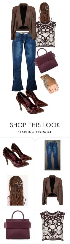 """""""Lovely Set from Fade shades ;)"""" by oanaf ❤ liked on Polyvore featuring Kurt Geiger, Urban Outfitters, MuuBaa, Givenchy and Needle & Thread"""