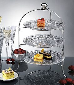 Godinger Dublin 3Tiered Server #Dillards