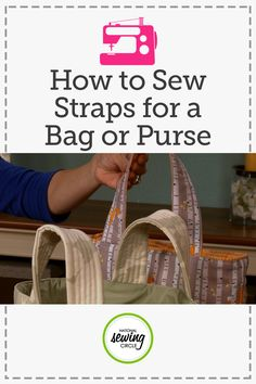 Make any purse or bag easy to grab-and-go by adding stiffness to the straps so they stand up on their own. Ellen March shows you several products that can help you achieve the strap stiffness you want(Diy Bag And Purses) Easy Sewing Projects, Sewing Projects For Beginners, Sewing Hacks, Sewing Tutorials, Sewing Crafts, Sewing Tips, Sewing Ideas, Sewing Basics, Sewing Patterns Free