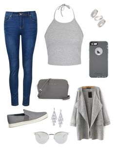 """""""Senza titolo #1478"""" by lulli01 ❤ liked on Polyvore featuring Ally Fashion, Vince, OtterBox, Fendi, Topshop, Carolee, women's clothing, women, female and woman"""
