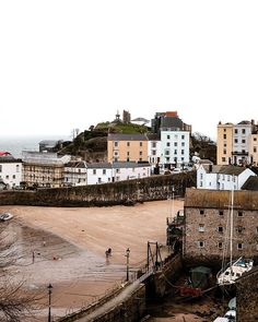 Penally Abbey Hotel and Restaurant, Tenby, Pembrokeshire Pastel Colors, Colours, England Beaches, Seaside Towns, Weekends Away, Rest Of The World, Where To Go, Paris Skyline, Coastal