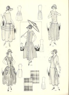 Vintage Sewing Pattern Instructions 1920's Flapper Easy Basque Dress Ebook PDF Depew 3008 -INSTANT DOWNLOAD-. $7.50, via Etsy.