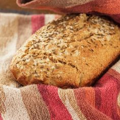 Yum I have been dreaming of bread…. A nice slice of grainy… bite into…. have to chew… kind of bread…. I had been feeling a little sluggish… actually bloated̷… Sweets Recipes, Bread Recipes, Whole Food Recipes, Cooking Recipes, Keto Recipes, Ducan Diet Recipes, Carb Free Bread, Dukan Diet Plan, No Bread Diet