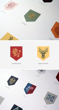 game of thrones logos darrin crescenzi Games of Thrones