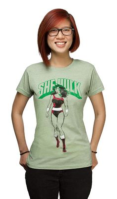 She Hulk Fitted Ladies' Tee