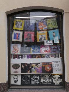 A record shop in Helsinki