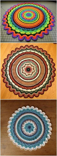 60+ Free Crochet Mandala Patterns - Page 9 of 12 - DIY