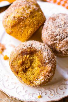My Favorite Cinnamon Sugar Pumpkin Muffins!