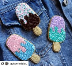 DIY Fall Felt Wreath – Un tutorial fácil paso a paso Couture Embroidery, Embroidery Fashion, Beaded Embroidery, Hand Embroidery, Embroidery Designs, Bead Jewellery, Seed Bead Jewelry, Beaded Jewelry, Bead Embroidery Jewelry