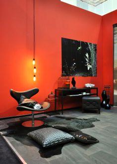 31 beste afbeeldingen van Rood - kleur en interieur - Rode muren ...