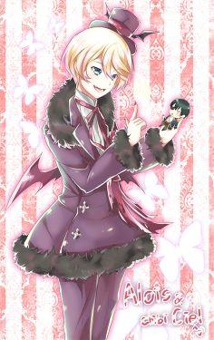 Lol I feel like a chibi around Alois sometimes