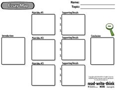 Free Technology for Teachers: Essay Map - Provides Step-by-Step Help for Constructing Essays