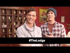 Interview: Thomas Doherty + Luke Newton | The Lodge (The Fan Carpet) - YouTube