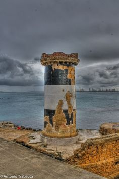 Old lighthouse of Brindisi by Antonio Trabacca on 500px