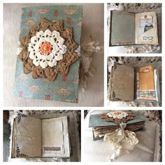 "5x7"" Handmade Junk Journal"
