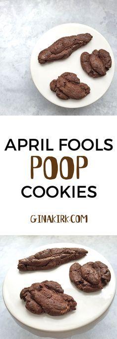 April fools' day poop cookies | poop cookie recipe | food pranks | April fools'…