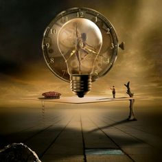 Even In The Quietest Moment Digital Art - Even In The Quietest Moment Fine Art Print Light Bulb Art, Clock Art, Clocks, Quiet Moments, Time Photo, Time Art, Abstract Photography, Surreal Art, Art Pages