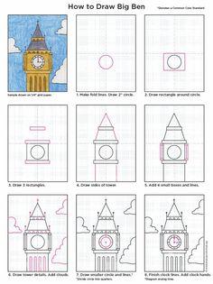 Draw Big Ben