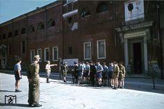 verona, wehrmachts verkehrs direktion (presso collegio femmilile agli angeli), agosto 1944 Verona, Anastasia, My Town, Division, World War, Mountain, Street View, Photos, Italia