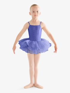 2cc28beb09 Kids Bow Print Mesh Back Cap Sleeve Ballet Dance Tutu Dress by Bloch in  Lilac #CL8212 | Ballet