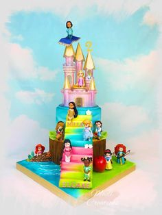 Princess cake by Madl créations - cake by Cindy Sauvage