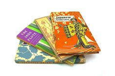 Four Japanese Haiku Books Illustrated Pauper Press Decorated Hardcovers with Dust Jackets Prose 1956 - 1960