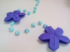 Mobile de origami (estrelinha)