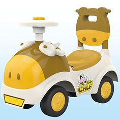 POCO DIVO Baby Calf 3in1 Walker Lowseat Ride On Toy Sliding Car Pushing Cart with Sound  Yellow >>> You can find more details by visiting the image link.Note:It is affiliate link to Amazon.
