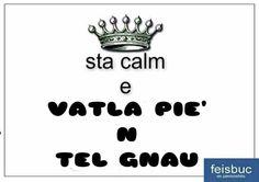 Modi di dire in dialetto piemontese Calm, Alphabet, Humor