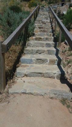 Escalera de piedras