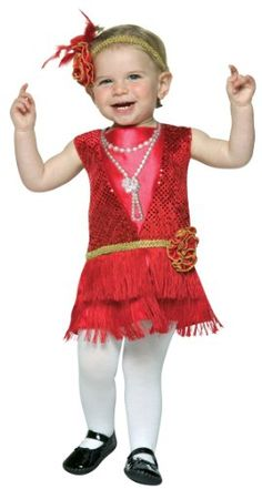 Flapper Toddler Costume