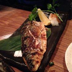 Zakkushi - Grilled mackerel- perfection - Toronto, ON, Canada