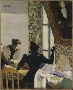 The Thread- Edouard Vuillard