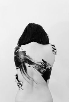Pintura corporal (Body Art) A World of Madness by ~brass-ringo Ink Tatoo, Tatoo Art, Body Photography, Portrait Photography, Conceptual Photography, Fashion Photography, Foto Portrait, Shooting Photo, Black And White Photography