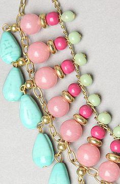 *Accessories Boutique The Triple Layer Bib Necklace : Karmaloop.com - Global Concrete Culture