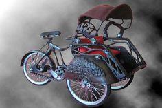 BECAK : Java First Transportation